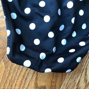 Victoria's Secret Swim - Victoria's Secret Black White Polka Dot Bottoms